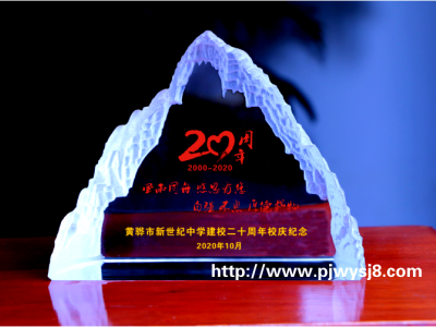 学校建校二十周年纪念品 sj-031